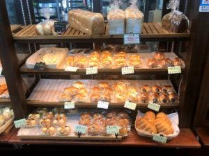 いろんな種類のパンがあります