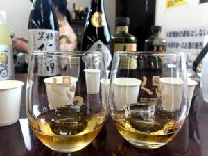 8年モノと12年モノの古酒