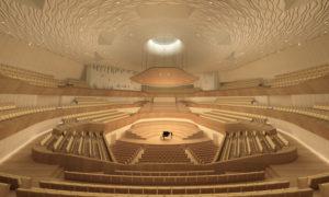 衛武営国家芸術文化中心のコンサートホール