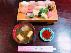 割烹大鷲の800円定食