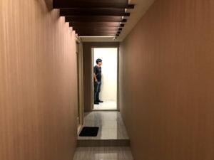 ゴージャスな廊下