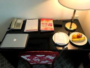 高雄滞在中はここが私のオフィスでした。
