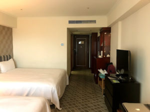 福華大飯店の部屋