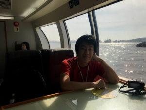 船の中のシート