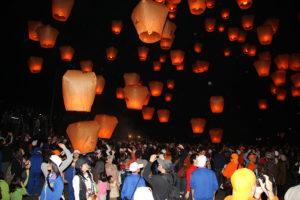 「ランタン上げ祭り「平溪天燈祭」」に参加したいなら2月中旬〜後半