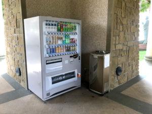 自動販売機と給水機