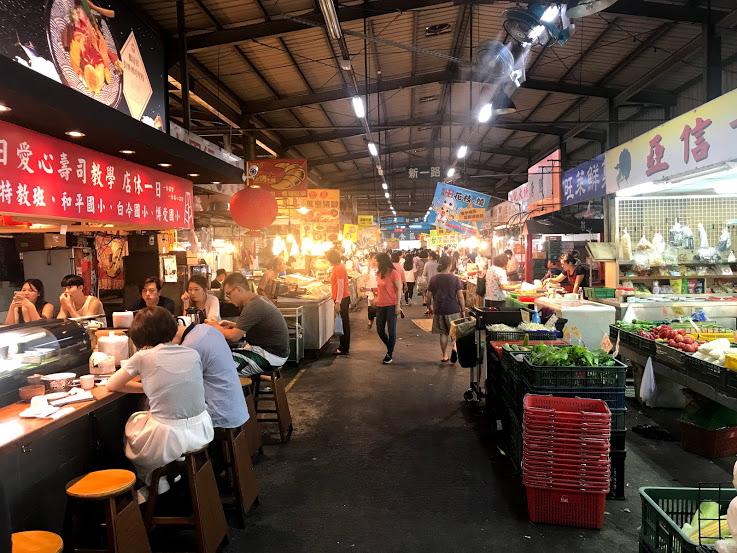 台湾の市場に行ってみたよ〜!