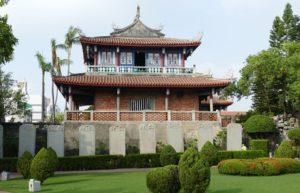 台南の古跡「赤崁樓」