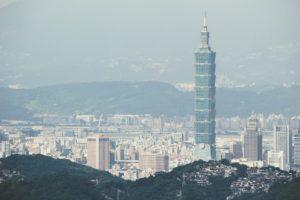 台北のランドマークである台北101
