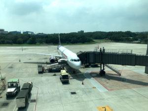 私が乗ったHK EXPRESSの機体