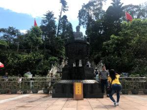 stairways to big buddha
