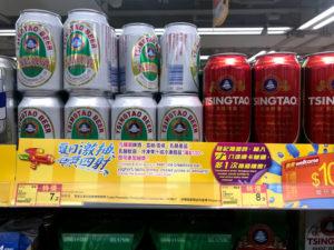 青島ビール(中国産ビール)の物価