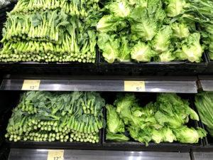 各種野菜の物価