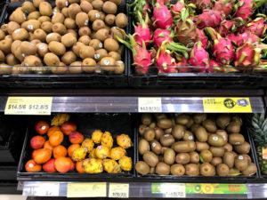 フルーツ類の物価
