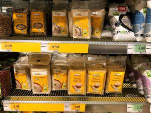 ドイツのスーパーの米