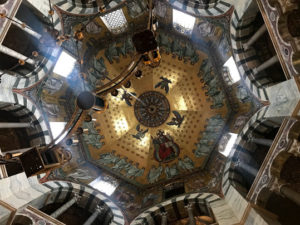 アーヘン大聖堂の天井