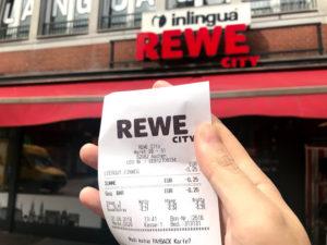 ドイツで見つけたスーパー「REWE CITY」