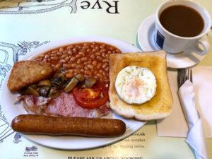イングリッシュブレックファスト(英国式朝食)
