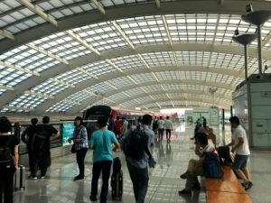 北京首都国際空港に到着!