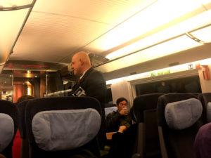 ドイツの鉄道にて