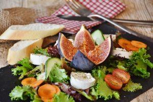 いちじくの食べ方④:サラダに入れる