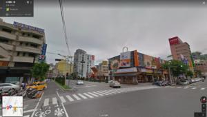 花蓮駅前のとある一角