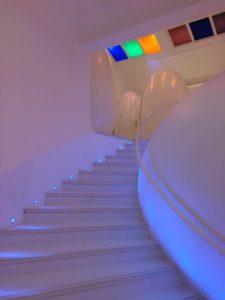 スケッチギャラリーの階段