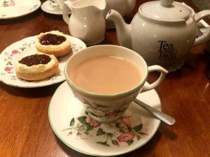 イギリス・ロンドンのスコーン②:Tea & Tattle