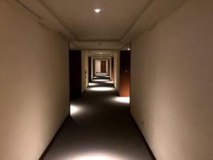 太魯閣晶英酒店(シルクスプレイス)の廊下