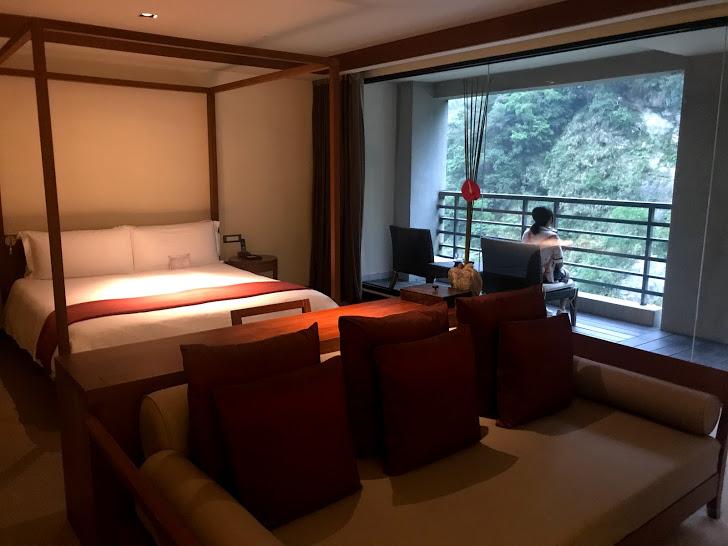 太魯閣晶英酒店(シルクスプレイス)のお部屋