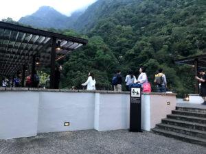 太魯閣晶英酒店(シルクスプレイス)の屋上プール
