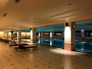 太魯閣晶英酒店(シルクスプレイス)の室内プール