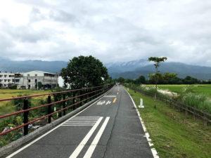 花蓮のサイクリングロード