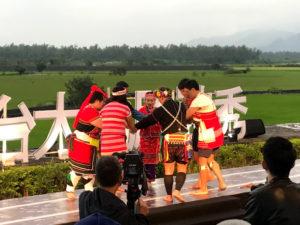 原住民の伝統舞踊(ぶよう)