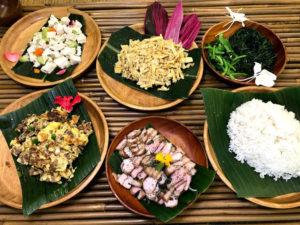 阿美族(アミ族)の料理