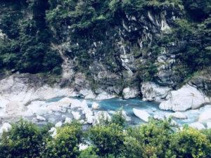 タロコ峡谷(太魯閣)の絶景が見られる