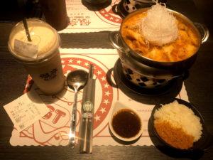 偈亭泡菜鍋(偈亭キムチ鍋) 170元