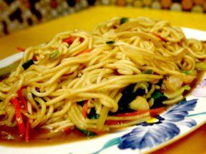 炒麵(台湾風焼きそば)