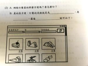 中国語のネットショップの図