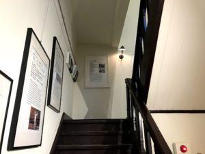 「台中市長公館」の二階へと続く階段