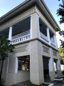 別のアングルから「台中市長公館」を撮る。