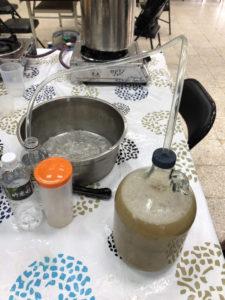 発酵の準備をします