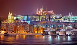 チェコのプラハにあるプラハ城