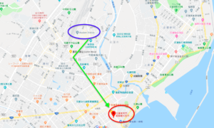 花蓮駅から東大門夜市までの行き方(アクセス方法)
