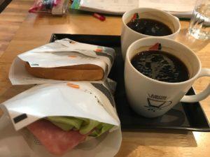 台湾の定番朝ごはんメニュー⑨:サンドイッチ(三明治)
