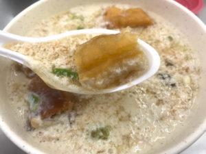 台湾の定番朝ごはんメニュー④:鹹豆漿(鹹豆漿)