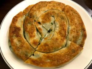台湾の定番朝ごはんメニュー⑥:蔥油餅(蔥油餅)