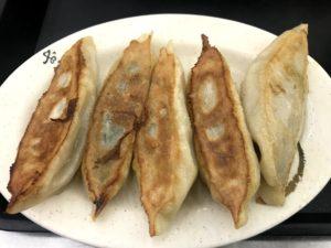 台湾の定番朝ごはんメニュー⑦:煎餃(焼き餃子)