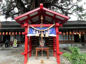 神社的な場所