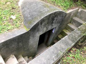 松園別館の防空壕